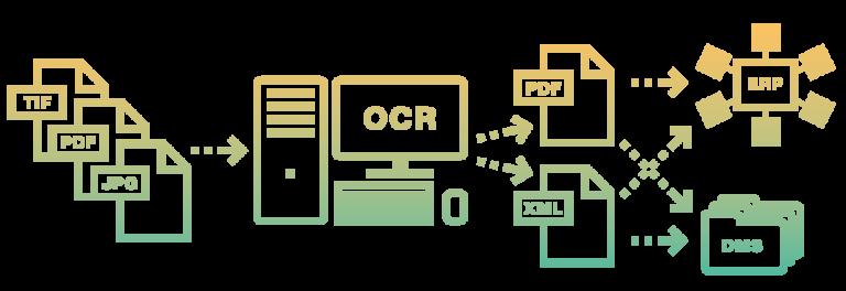 OCR DMS digitalizace vytěžování